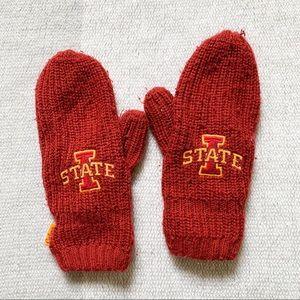 4/$25 - '47 Red Iowa State Logo Mittens